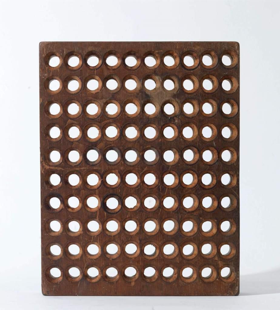 ΒΑΣΙΛΗΣ ΣΚΥΛΑΚΟΣ (1930-2000) «Χωρίς τίτλο» ξύλο, 1994 36,5 x 28,5 x 6 εκ. έργο τέχνης - Roma Gallery