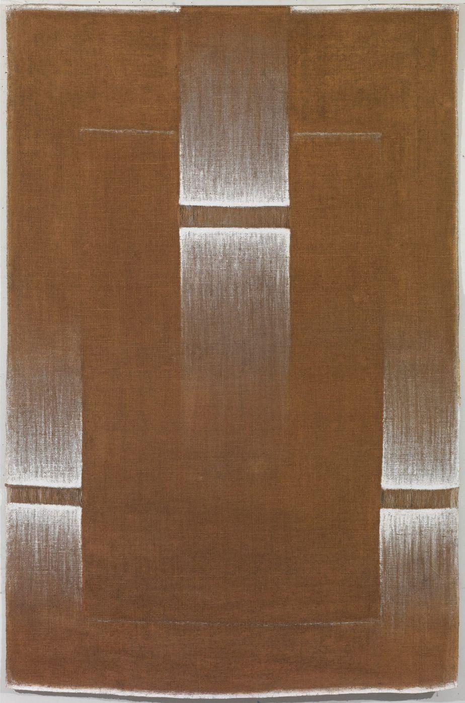 """Δανιήλ Παναγόπουλος, """"IV - VI"""", 1978, Λάδι σε λινάτσα, 160 x 107 εκ."""