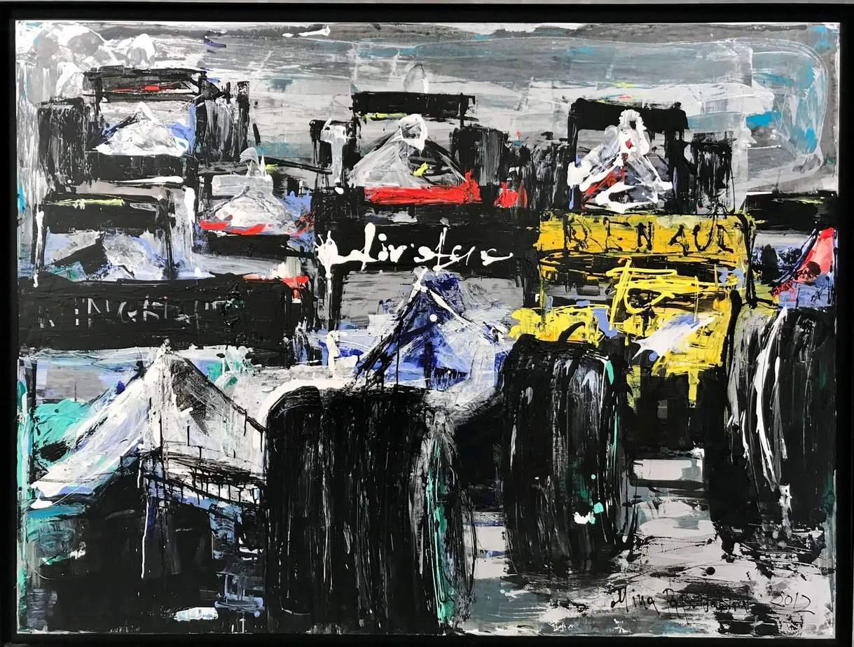 Mina Papatheodorou Valyraki Oil on canvas, 2012 150 x 200 cm