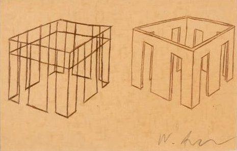Νίκος Αλεξίου Drawing, pencil, collage on paper 21 x 29.6 cm