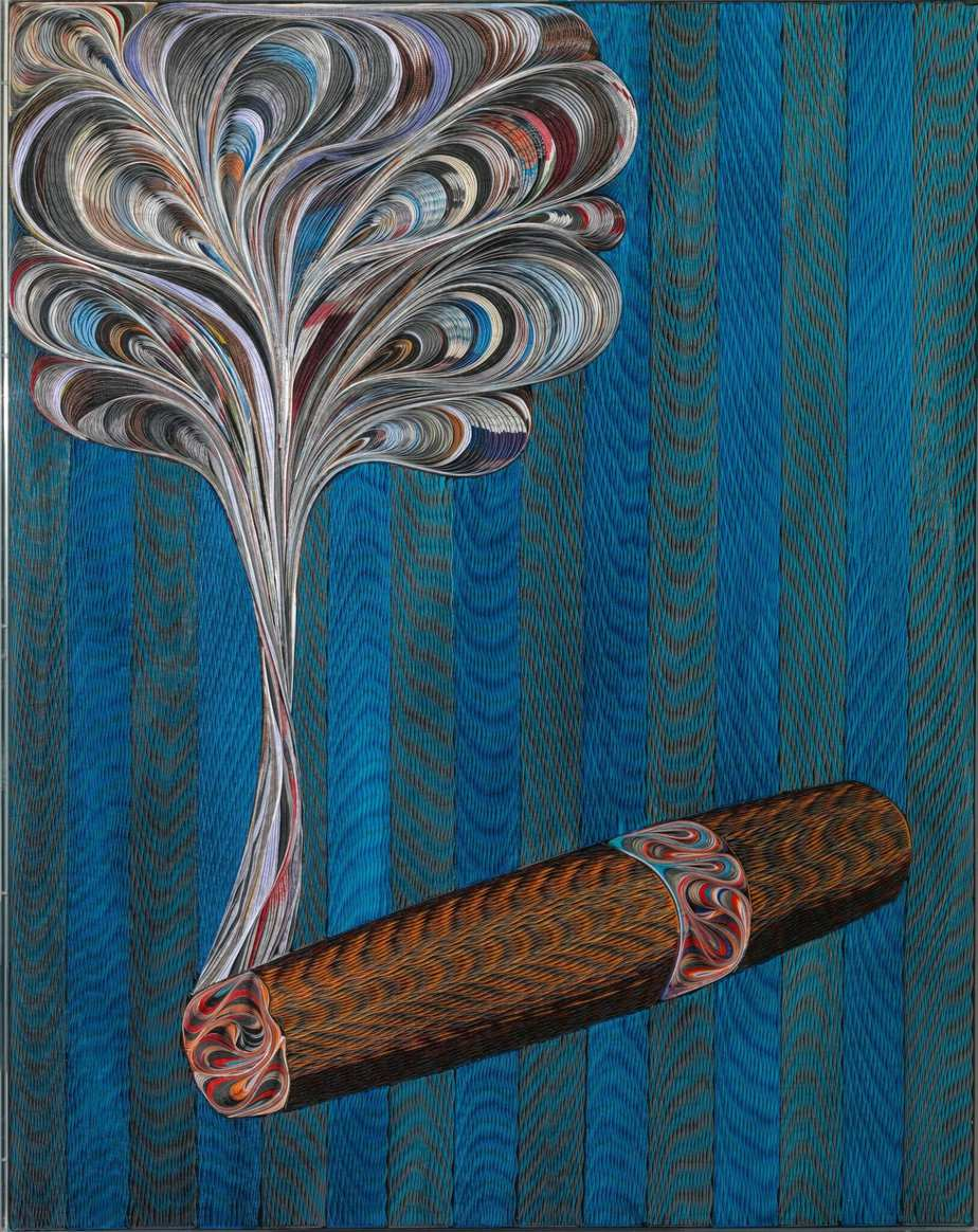 "Pavlos (Dionysopoulos) artwork : ""CIGAR"""