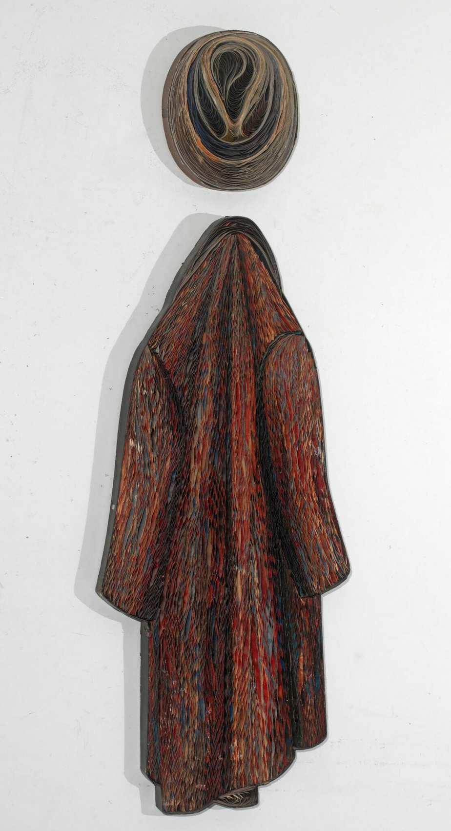 Pavlos (Dionysopoulos) artwork : «Un manteaux et un chapeau»