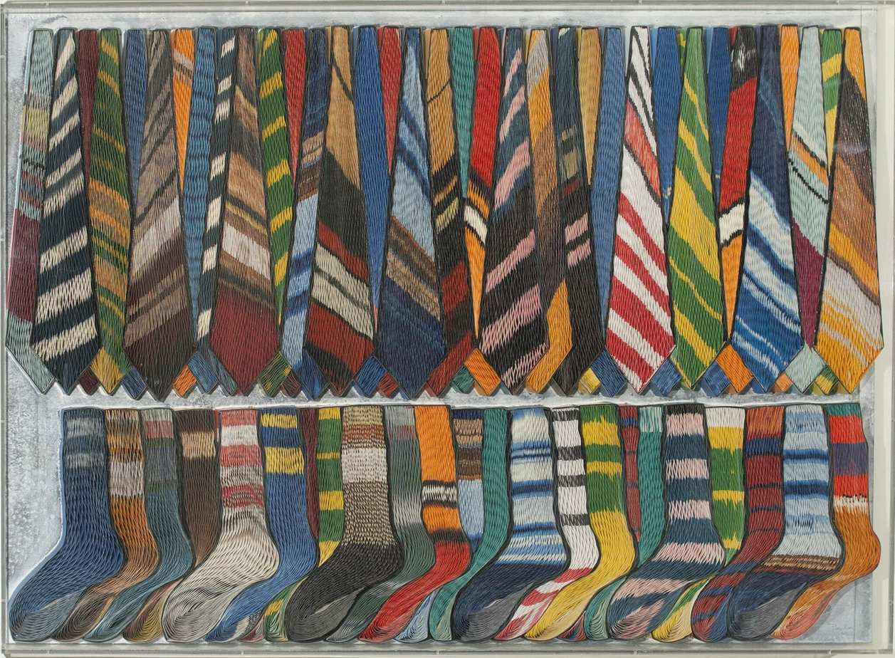 Pavlos artwork - «Ties and socks»