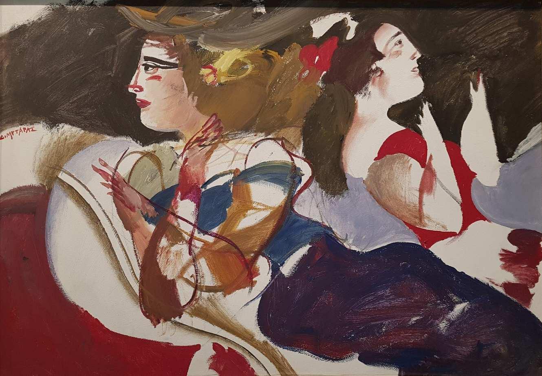 ΔΗΜΗΤΡΗΣ ΜΥΤΑΡΑΣ- έργο τέχνης - Roma Gallery
