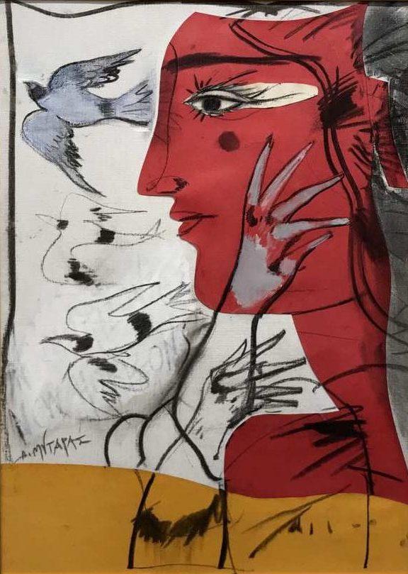 ΔΗΜΗΤΡΗΣ ΜΥΤΑΡΑΣ- έργο τέχνης Roma Gallery