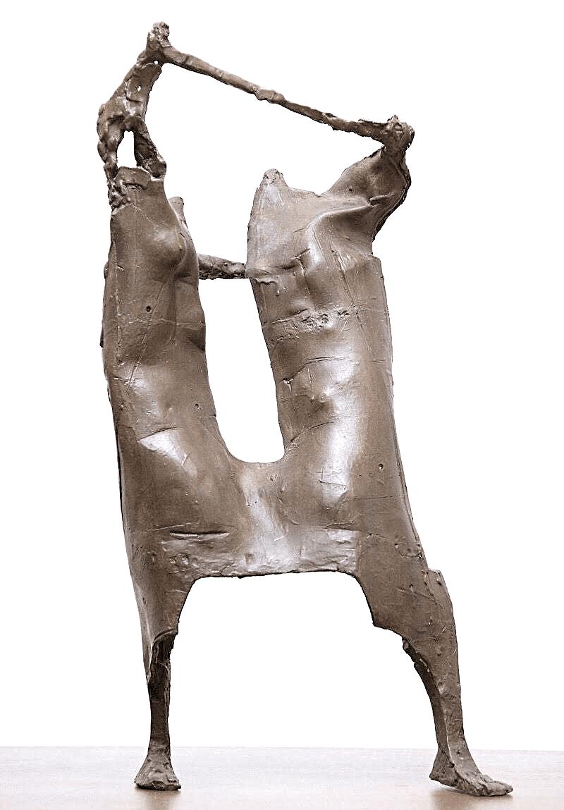 Χρήστος Καπράλος (1909-1993) «Χορός» ορείχαλκος, 1960-1970 60 x 28 x 17 εκ.