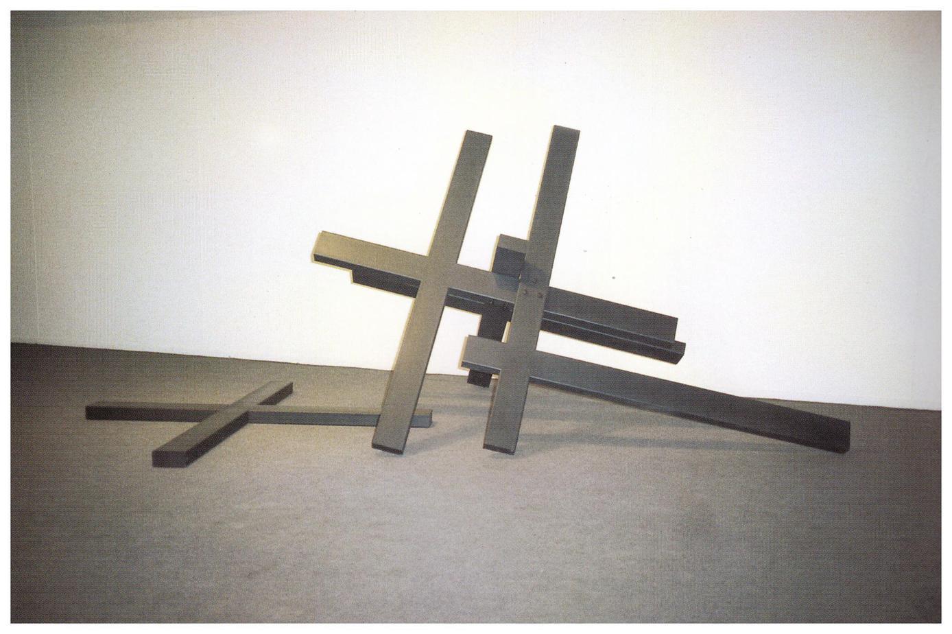 Σταυροί, Σίδηρος, 1995, 200 x 200 x 500 εκ. (διαστάσεις μεταβλητές)