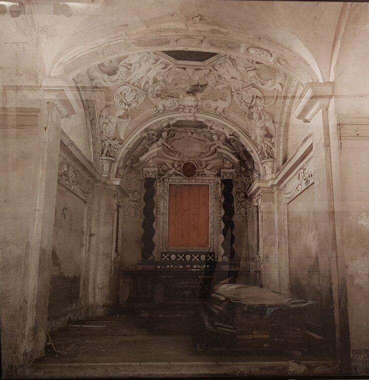 Adrian Paci Cappella Chapeli framed photograph 185,5 x 180,5 cm