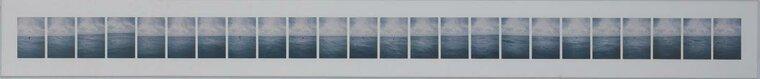 BIA GAYOTTO Thirteen friends jumping: Sharon Lockhart , 1999 25 x 250 cm (h x w) C-Print