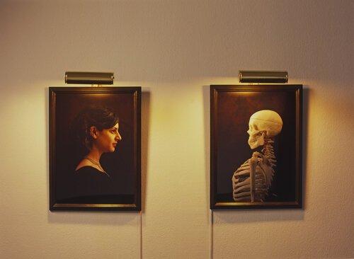 JAMIE ISENSTEIN Companion Portraits (Diptych), 2006 51 x 38 cm (each) Installation, digital c-print, framed, light