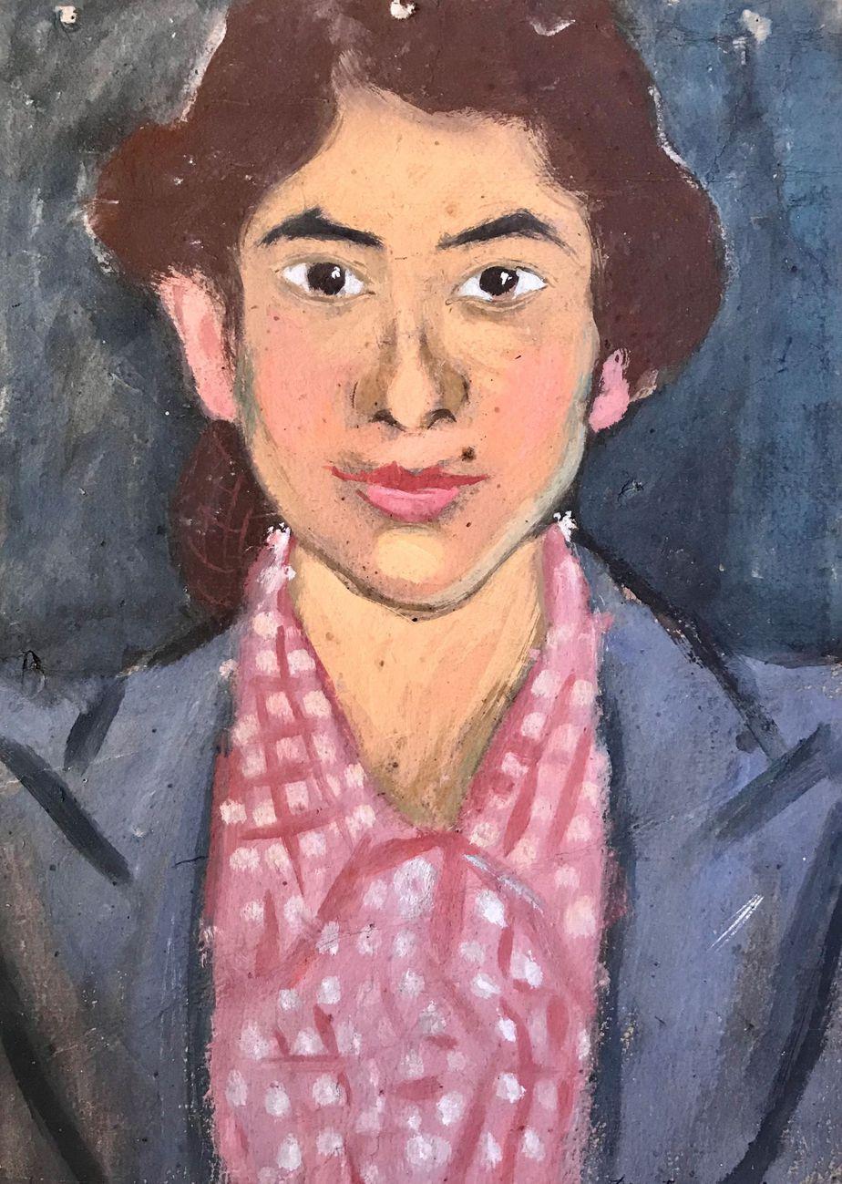 Danil (Panagopoulos) (1924-2008) Oil on paper, 1946 44 x 31 cm