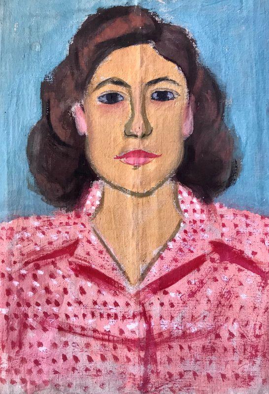 Danil (Panagopoulos) (1924-2008) Oil on canvas 48 x 34 cm