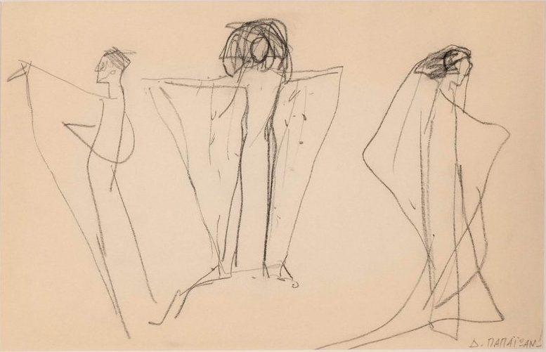Dimitris Papaioannou Drawing, pencil on paper 22 x 33.8 cm
