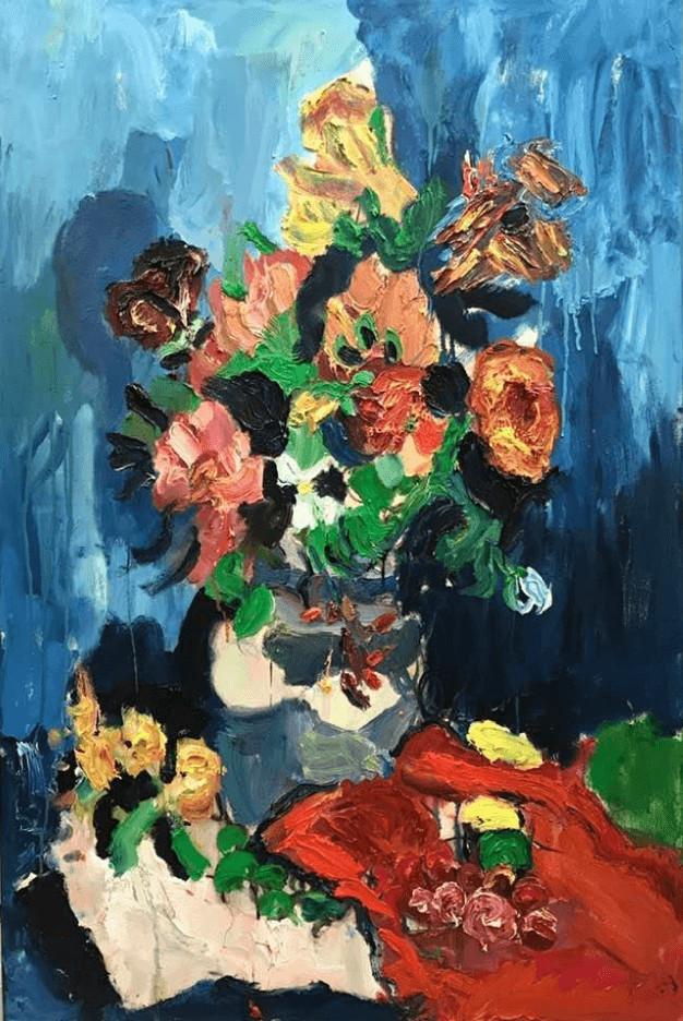 "Victor Bakker (b.1979) ""Untitled"" Oil on canvas, ca.2000 150 x 100 cm"